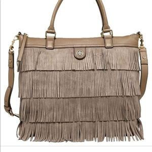 Tory Burch❤️🔥Suede Fringe Tote